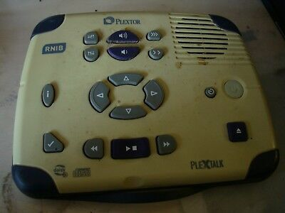 Plextor Rnib Plextalk Cd Player Fad44 Kha62