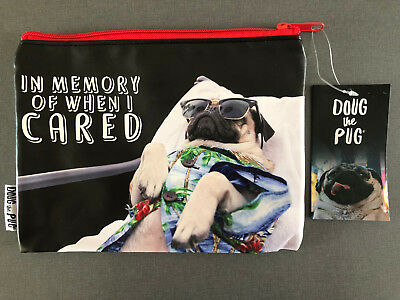 Doug The Pug Mops Federmappe Mäppchen Pencil Case Hund Stiftemappe Tasche Etui