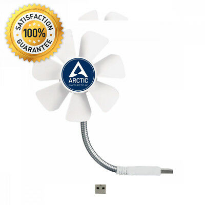 ARCTIC Breeze Mobile - Mini USB Desktop Fan with Flexible Neck I Portable...