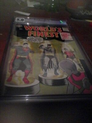 Two Worlds Finest Comics #88 and 98 CGC graded  #88 is 3.5  the #98 is 5.0