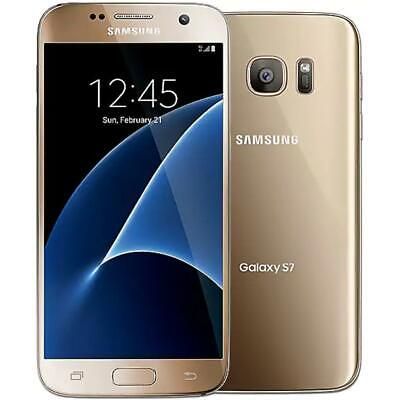 Samsung Galaxy S7 - 32GB - Gold (GSM Unlocked AT&T / T-Mobile) Smartphone