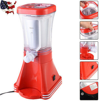 Slush Soda Drink Maker Machine Blender Ice Slushie Margarita Slurpee Frozen US