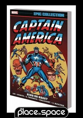 Captain America Epic Collection Hero Or Hoax - Softcover