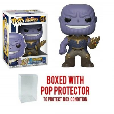 Funko POP! Marvel: Avengers Infinity War - Thanos Collectible Figure #289 w case