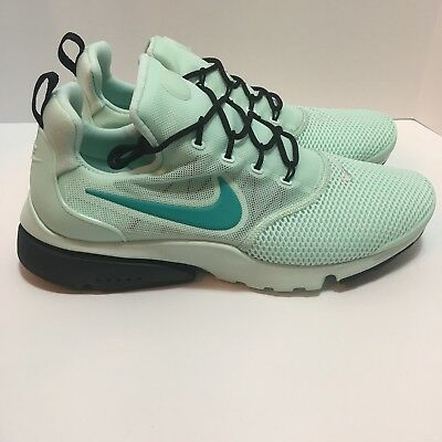 best service 43f63 0c39b Women s Nike Presto Fly 910569-300 Size 10 Igloo Clear Jade Black Running  Shoes