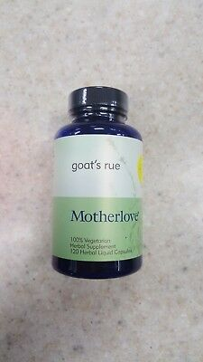 Motherlove Goat's Rue Herbal Breastfeeding Supplement for Lactation Support, 120