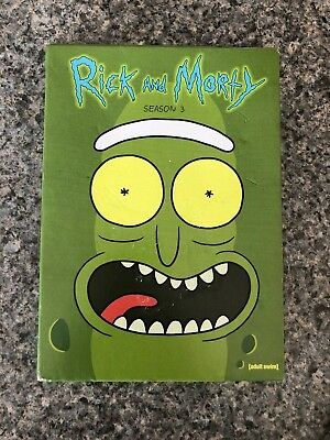 Rick and Morty: The Complete Third Season Three 3 (DVD, 2018, 2-Disc Set)