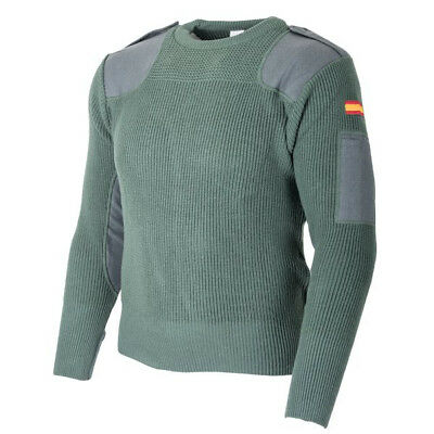 Authentic Spanish Army Officer Commando Sweater Heavy Weave - Ultra Comfortable