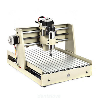 Cnc Router Engraver Engraving Cutter 4 Axis 3040 T-Screw Desktop Cutting 400W Us