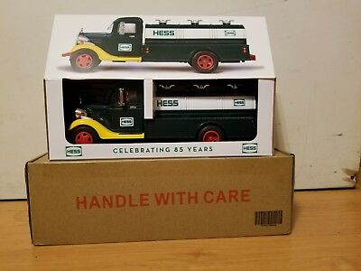 2018 Hess Truck Very Limited Special Edition 85Th Anniversary Sold Out!!!!