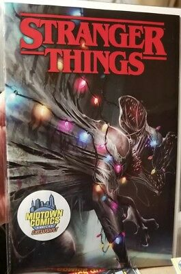 🔥 Stranger Things #1 (netflix) comic Francesco Mattina VARIANT Cover 🔥