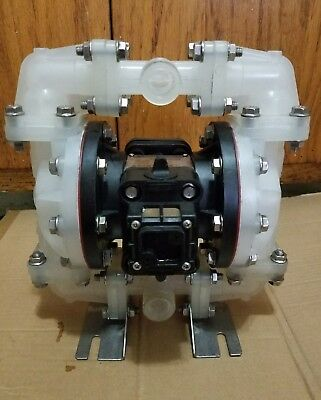 "Sandpiper Air Operated Diaphragm Pump 1/2"" Nonmetallic Transfer OEM3905PPT2 USED"