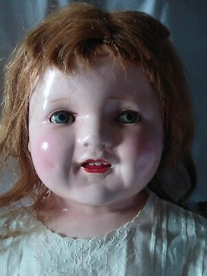 Old Vintage Large Baby Doll Repair Needed Tlc Haunted Creepy Cloth