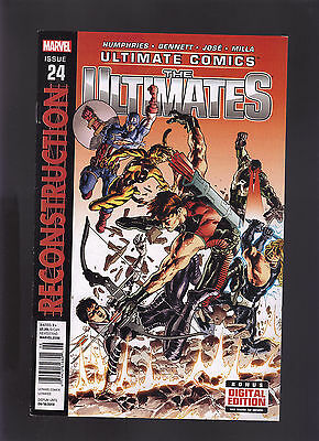 Marvel Ultimate Comics The Ultimates #24 Newsstand Variant Edition Reconstructio