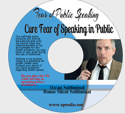 Fear of Public Speaking- Get Confident & Speak Without Fear  Ocean Subliminal CD