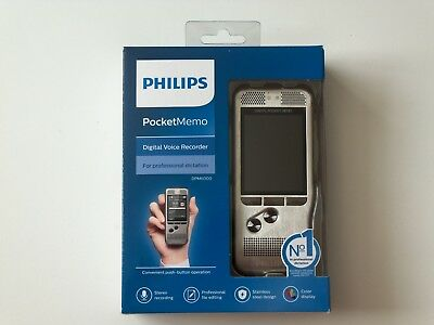 BRAND NEW Philips DPM6000 Digital Voice Recorder IN ORIGINAL FACTORY SEALED BOX