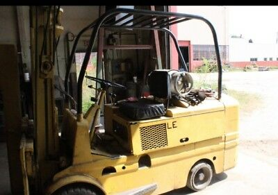 Yale Forklift 10,000 Lb Capacity Lp Gas With Boom & Forks