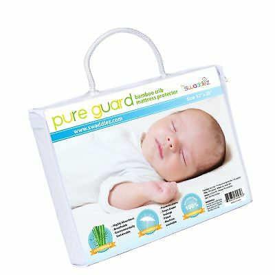 Crib Mattress Protector | Waterproof Crib Mattress Cover | Crib Mattress Pad ...