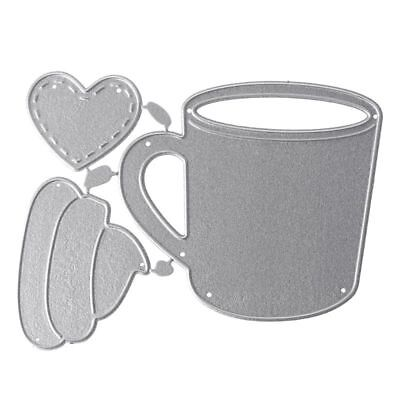 Metal Cup Shape Cutting Dies Embossing Stencil Templates Mold Paper DIY Supplies