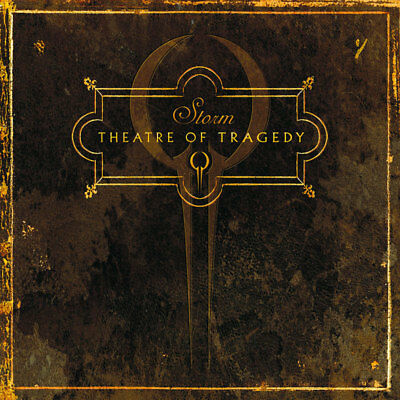 THEATRE OF TRAGEDY - Storm - Gold/Black Marbled Vinyl-2LP - 884860201315