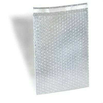 """Clear Bubble Out Bags 8"""" x 15.5"""" Padded Envelopes Shipping Mailing Bag 2400 Pcs"""