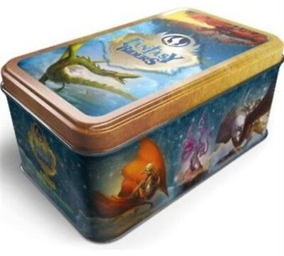 Tin Box Fantasy Riders. + 50 Cartas. Nueva Coleccion.