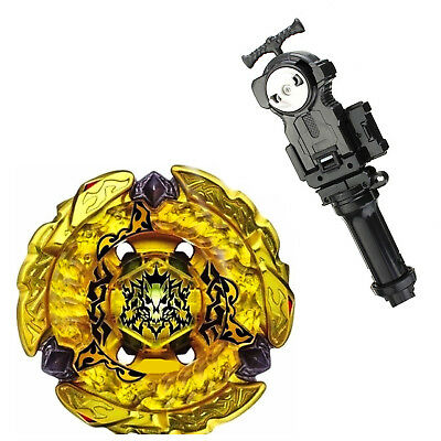 Beyblade Metal Fight Fusion Hell Kerbecs BD145DS BB99+L/R Launcher +grip
