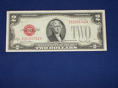 $2 United States Note Series of 1928G U86