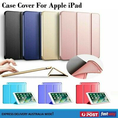 Stand Cover Smart Hard Case for Apple iPad Mini/iPad Pro/iPad 2/3/4/iPad Air