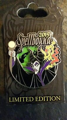 BRAND NEW Maleficent 2015 Spellbound Disney Trading Pin Limited Edition 3000