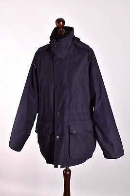 Men's Barbour Endurance Hooded A 938 Jacket Size S Genuine Mint