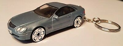 1:64 DIECAST MODEL CARS, mercedes benz sl coupe  KEYRINGS. GREAT GIFTS.