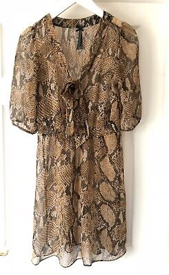 Next Snake Print Dress Or Tunic UK Size 10