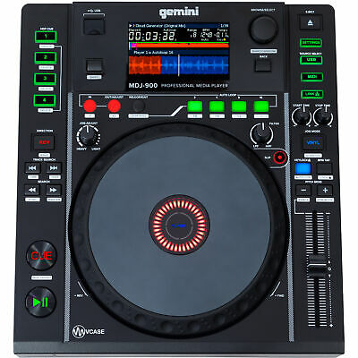 Gemini MDJ-900 - DJ USB Media Player Workstation Midi Controller