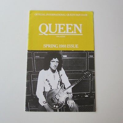 QUEEN : Official Fan Club Magazine Spring Issue 1981
