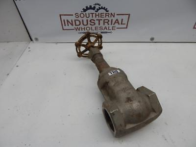 "Powell 2"" 200 Stainless Gate Valve Fig 1832 18 8S MO"