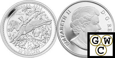 2012 5oz Proof $50 'Calgary Stampede' .9999 Fine Silver Coin *No Tax (13009)