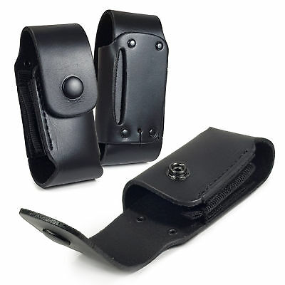 TUFF LUV Leather Case Sheath Pouch for Leatherman Wave WP650 -Black