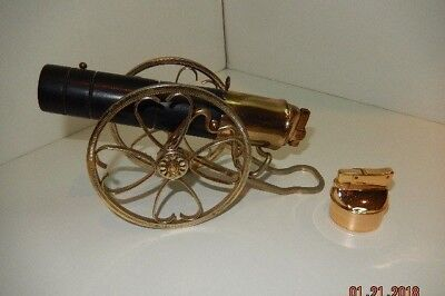 Vintage CANNON table top lighter