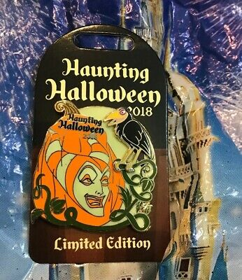 Disney Parks Haunting Halloween 2018 Sleeping Beauty Maleficent Pin LE 3000 New