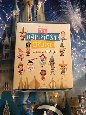 Disney It's a Small World The Happiest Cruise Blind Box Figure 2018 New