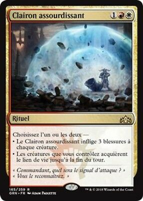 MTG Magic - Clairon assourdissant - Guildes de Ravnica -  Rare - VF
