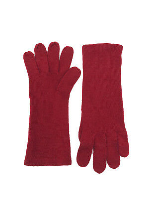 Echo Women's Knit Gloves, Deep Red, One Size