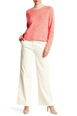 NWT $80 J CREW Womens Sz 10 Vintage Champagne Tailored Wide Leg Chino Pants