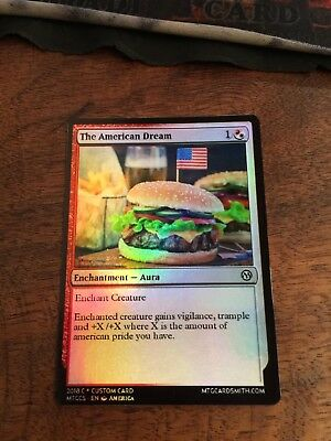 The American Dream Magic The Gathering MTG card Planeswalker Trump President