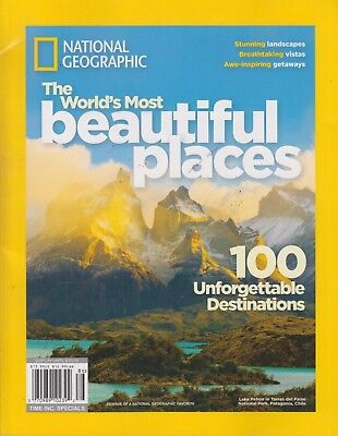 National Geographic The World's Most Beautiful Places Special Publication 2018