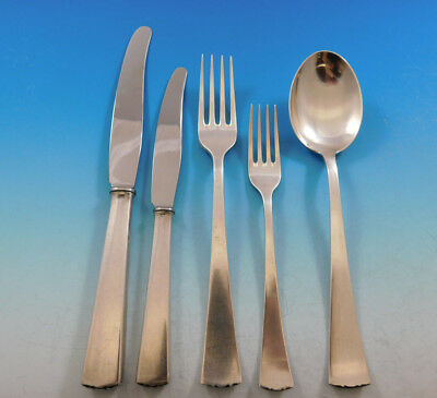 Diplomat by CG Hallberg Swedish 830 Silver Flatware Set Service 30 pieces