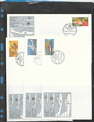 Canada   FDC   # 843 to 846