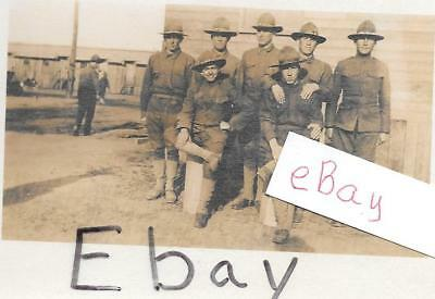 First World War original Photo Soldiers Post Card- not posted