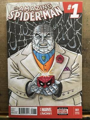 The Amazing Spider-Man #1 - original sketch cover by Dave Ryan